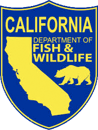 CA Department of Fish and Game Patch