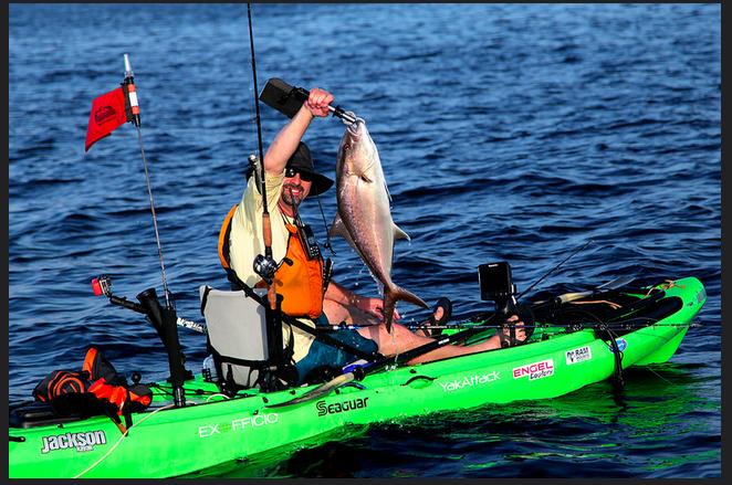 La jolla kayak fishing adventures test for Kayak fishing louisiana